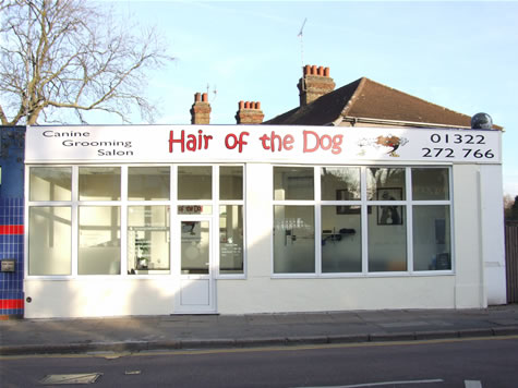 Our dog grooming salon is located in Wilmington, just on the outskirts of Dartford